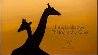 Trai's Lockdown Photography Quiz