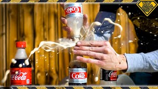Don't Mix DRY ICE and Coke