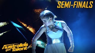 Sienna Osbourne Is A Warrior Queen |  Semi-Finals | Australia's Got Talent
