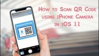 Scan QR Code using iPhone Camera in iOS 11