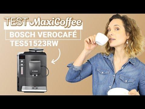 Bosch VéroCafé LattePro TES51523RW : présentation et test