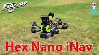 Smallest iNav Platform // Flywoo Firefly Hex Nano iNav version - Setup & Review