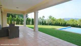 preview picture of video 'Charming modern villa overlooking the sea in Santa Ponsa (Mallorca)'
