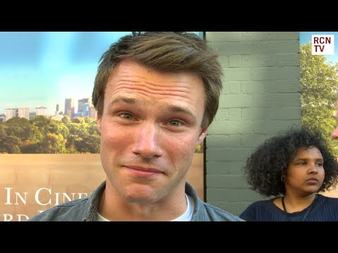 Hugh Skinner Interview Hampstead Premiere