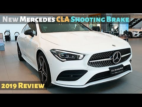 New Mercedes CLA Shooting Brake 2019 Review Interior Exterior