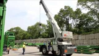 Stevenson Crane Featured Equipment: Shuttlelift 7755 Carry Deck Crane