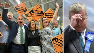 video: Boris Johnson 'has no intention' of making Brexit Party pact – as two dozen Tory MPs consider quitting over no-deal plan