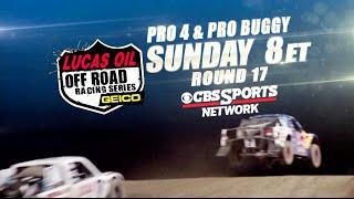 Pro 4/Pro Buggy Round 17 Promo