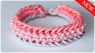 "Браслет из резинок на станке ""Змейка""   Rainbow Loom Bracelet"