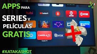 TOP apps y plataformas para VER películas y series GRATIS por internet en MÉXICO