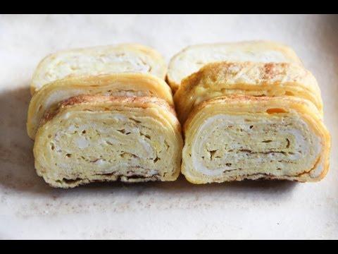 Tamagoyaki (pan fried rolled egg) Recipe – Japanese Cooking 101