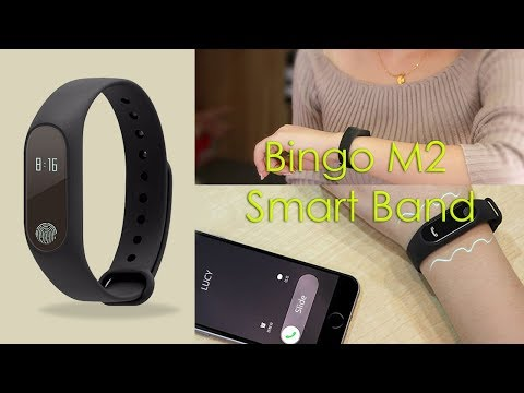 Bingo M2 Water Proof Smart Band 2017 | Review 1st
