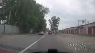 Смотреть онлайн Авария: питбайк врезался в ВАЗ