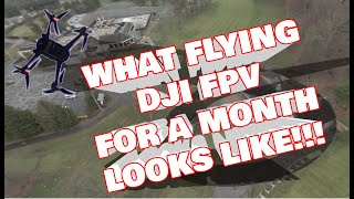 DJI FPV FreeStyle   Exploring Golf Course by Drone   Results are Shocking   Full Stunt Acro!