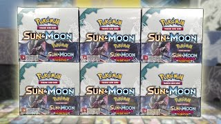 OPENING 6 POKEMON GUARDIANS RISING BOOSTER BOXES OF POKEMON CARDS!!! | A WHOLE BOOSTER CASE!!! by The Pokémon Evolutionaries