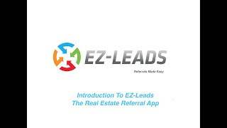 1.  Introduction To EZ-Leads