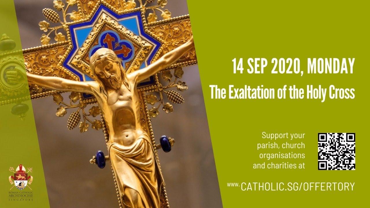 Catholic Monday Mass 14th September 2020 Today Online