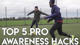 HOW TO IMPROVE YOUR AWARENESS & DECISION MAKING IN SOCCER