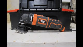 Black and Decker Multi Tool Review (MT300)