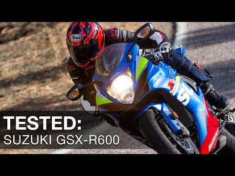 2016 Suzuki GSX-R600 Sportbike Review Video | Riders Domain