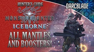 HOW TO GET ALL MANTLES AND BOOSTERS : MHW ICEBORNE