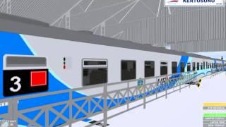 Tutorial Cara Mengedit Rangkaian Kereta di OpenBVE Indonesia : KA