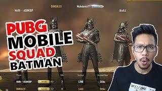 SQUAD BATMAN REBUTAN KILLS - PUBG MOBILE INDONESIA