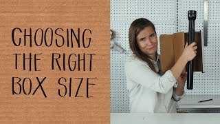 How To Pick The Right Size Box