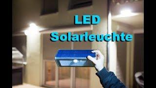 LED Solar Wandleichte mit infrarotbewegungs Sensor