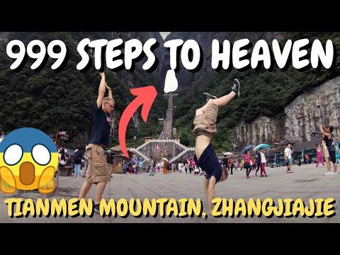999 Steps to Heaven, Tianmen Mountain - Zhangjiajie, China