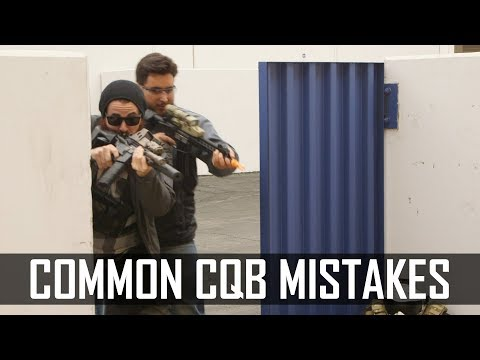 Common CQB Mistakes! - Airsoft GI