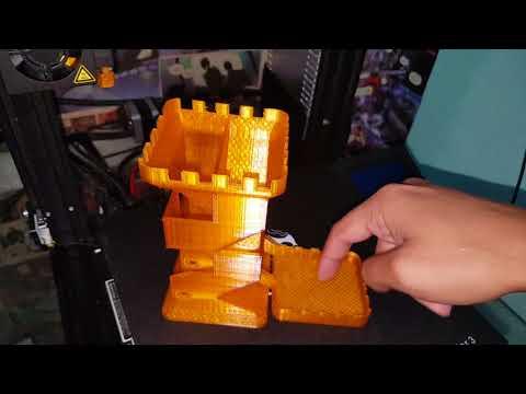 Torre para Dados RPG - Impressora 3D ENDER 3