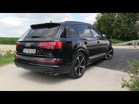 Audi  SQ7 TDI Паркетник класса J - тест-драйв 3