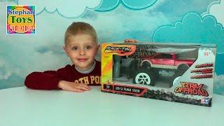 Монстер трак машинка на пульте управления открываем - Monster truck car toy R/C unboxing