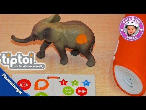 Tiptoi Tiere Ravensburger - kleiner Elefant Baby