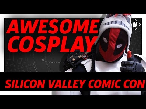 Awesome Cosplay At Silicon Valley Comic Con 2017
