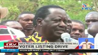 Raila in strategic meeting with Nyanza leaders - VIDEO
