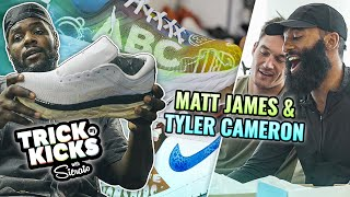 """Bro You SNAPPED!!"" Bachelors Tyler Cameron & Matt James FALL IN LOVE With Sierato Custom Jordans 😍"