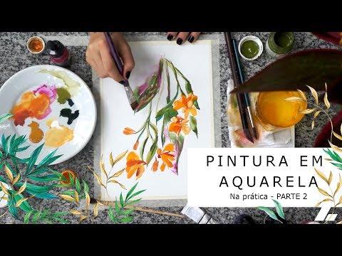 Imagem Video - Na prática: pintura em aquarela (parte 2)