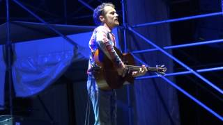 Damien Rice - Cannonball (unplugged) Woman Like a Man Live @ Ferrara Sotto le Stelle