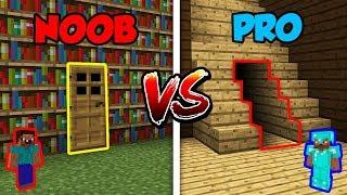 Minecraft NOOB vs. PRO: SECRET ROOM in Minecraft!