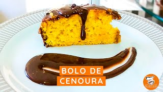 #13 Bolo de Cenoura com Cobertura de Chocolate