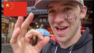 AMERICAN explores SHANGHAI, CHINA! (Travel Vlog Day 1)