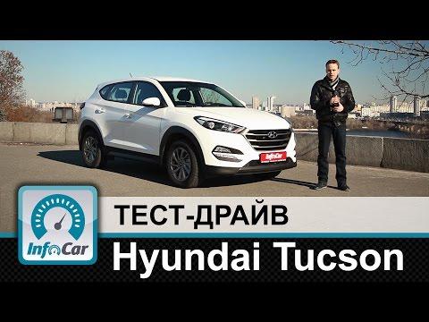 Hyundai  Tucson Паркетник класса J - тест-драйв 2