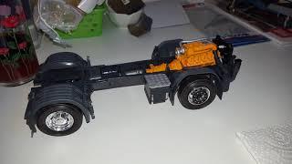 Italeri Scania R730 3883 & Trailer 3809 1.24 Build Final
