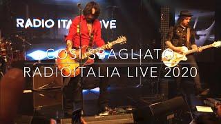 Le Vibrazioni - Così Sbagliato- RadioItalia live 18/02/2020