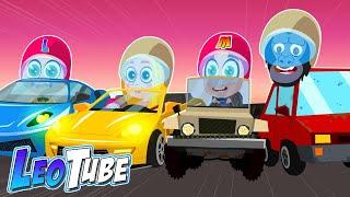 La gran carrera LeoTube Cartoons