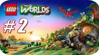 LEGO Worlds - Gameplay Español - Capitulo 2 - 😋🍭 El País de la Piruleta 🍭😋