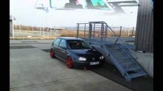 Lowered  Golf MK4.wmv