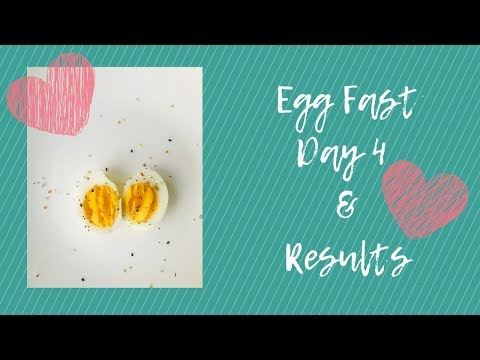 Keto Egg Fast Day 4 Results | Egg Fast
